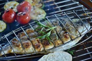 Egészséges ételek grillen
